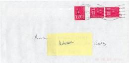 Marianne De Bequet - 3 Timbres 1fr Rouge Sans Bande De Phosphore N°1892b - 1971-76 Maríanne De Béquet