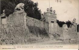 NOIRMOUTIER Façade D'un Chalet Au Grand Vieil 1919 - Noirmoutier
