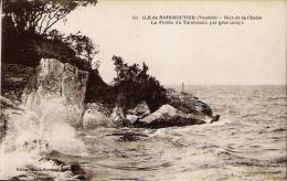 NOIRMOUTIER Pointe Du Tambourin Par Gros Temps - Noirmoutier