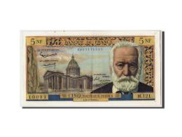 France,5 Nouveaux Francs Victor Hugo,1964-5-6,KM:141a,Fayette:56.15,SUP+ - 5 NF 1959-1965 ''Victor Hugo''