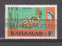 Bahamas 1971 Mi Nr 322 Vis, Fish, Baars - Bahamas (...-1973)
