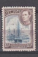 Bermuda 1938 Mi Nr 102 Schip, Ship - Bermuda