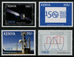 KENYA 2015 - 150e Ann De L'UIT - 4 Val Neufs // Mnh - Kenia (1963-...)