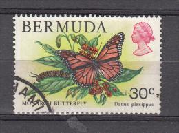 Bermuda 1978 Mi Nr 362 Butterfly, Vlinder - Bermuda