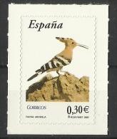 SPAIN  2007  HOOPOE  MNH - Uccelli