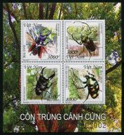 VIÊT-NAM 2015 - Faune, Insectes - BF Neufs // Mnh - Viêt-Nam