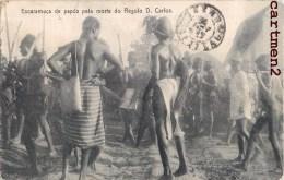 ESCARAMUCA DE PAPUS PELA MORTE DO REGULO DON CARLOS GUINEE-BISSAAU PORTUGAL AFRIQUE - Guinea-Bissau