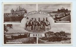 Rhyl - Multiview With Donkies - Flintshire