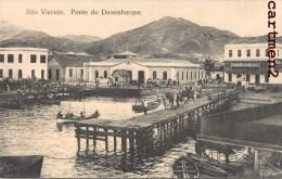 SAO VICENTE CABO VERDE PONTE DO DESEMBARQUE - Cap Vert