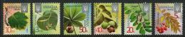 UKRAINE - 2015 - Feuilles Et Fruits D'arbres, Série Courente Réimpression Avec Micro Text 2015  - 6 Val Neuf // Mnh - Ukraine