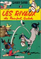 DUPUIS - LUCKY LUKE - LES RIVAUX DE PAINFUL GULCH - N°19 - 1978 - PREVOIR 5€ DE PORT - POIDS 150gr. - Books, Magazines, Comics