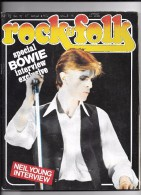 ROCK AND FOLK N 112 SPECIAL BOWIE - Musique
