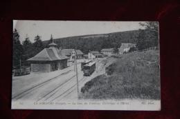 LA SCHLUCHT - La Gare Du Tramway Electrique Et L'Hôtel. - Autres Communes