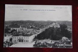AUCH - Vue Panoramique Prise De La Cathédrale - Auch