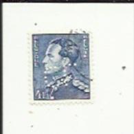 Timbre 4 Fr -Leopold III_Perforé ( C  L )  Bon Etat 1940 - Lochung