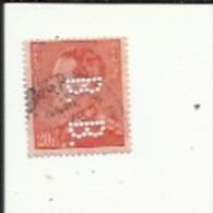Timbre 4 Fr -Leopold III_Perforé ( B  B )  Bon Etat 1940 - Lochung