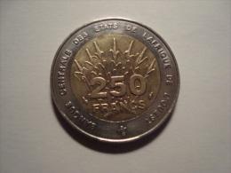 MONNAIE ETATS DE L AFRIQUE DE L OUEST 250 FRANCS 1993 - Ivoorkust