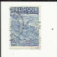 Timbre 4 Fr -Filatures_Perforé ( N C N  )  Bon Etat 1948 - Lochung