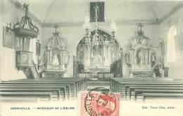 GEROUVILLE - Intérieur De L'Eglise - Meix-devant-Virton