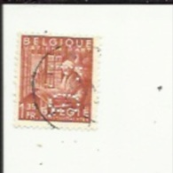 Timbre 1 Fr 35_Exportation_Perforé ( F  G)  Bon Etat 1948 - Lochung