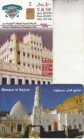 "YEMEN(chip) - Mosque In Say""un, 06/00, Sample(no CN)"