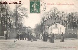ESSONNES ROND-POINT DE CHANTEMERLE TRES ANIME 91 ESSONNE - Essonnes