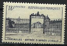 """FR YT 988 """" Grille D´entrée De Versailles """" 1954 Neuf* - Unused Stamps"""
