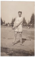 Astoria Oregon, Astoria Centennial 1811-1911, C.E. Walsh Hammer Throw Athlete C1910s Vintage Real Photo Postcard - Sonstige