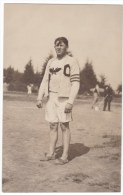 Astoria Oregon, Astoria Centennial 1811-1911, Track & Field Athlete C1910s Vintage Real Photo Postcard - Sonstige