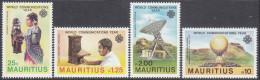 MAURITIUS, 1983 COMMUNICATIONS 4 MNH - Mauritius (1968-...)