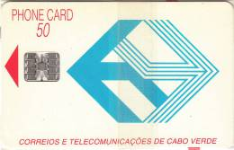 CAPE VERDE - Telecom Logo(blue), First Chip Issue, Mint - Kapverden
