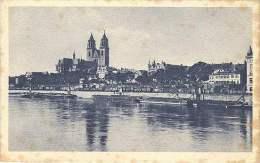Magdeburg - Elbansicht Mit Dom - Magdeburg