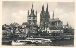 Koln - Dom - St Martin Und Stapelhaus - Koeln