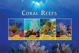 St. Vincent & The Grenadines-2015-Marine Life Coral Reef - St.Vincent E Grenadine