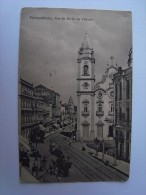 1 Cpa - Brazil Brasil - Recife - Pernambuco - Rua Do Barão Da Victoria (2 Scans) - Recife