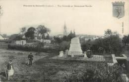 """/ CPA FRANCE 45 """"Beaune La Rolande, Vue Générale Et Monument Bazille"""" - Beaune-la-Rolande"""