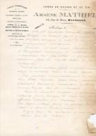 MAUBEUGE FACTURE FUSILS HAMMERLESS CARABINE REVOLVER PISTOLET ARMURERIE ARSENE MATHIEU 54 RUE DE MONS CHASSE TIR FUSIL - 1900 – 1949