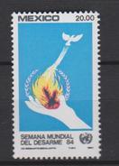 Mexico Mi 1914 UN Disarmament Week 1984 * * - Mexico