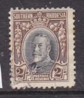 Southern Rhodesia 1931 Field Marshal Head, 2/=, Perf 12, Used - Southern Rhodesia (...-1964)