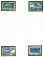 MONTSERRAT 1990 DAUPHINS-WWF   Yvert N°743/46   NEUF MNH** - W.W.F.