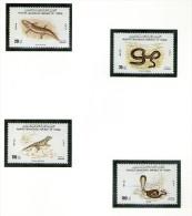 YEMEN 1980 SERPENTS  Yvert N°238/41  NEUF MNH** - Snakes