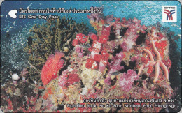 Thailand BTS Card Eisenbahn Train Ticket ONE DAY Pass Corallen Shell - Eisenbahnen