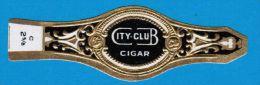 1 BAGUE DE CIGARE CITY-CLUB CIGAR / 2 5/8 - Bagues De Cigares