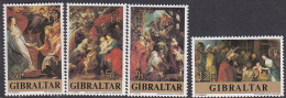 Gibraltar 1977 Christmas Set MNH - Gibraltar