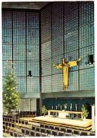 Berlin -  CHRISTUSFIGUR (Karl Hemmeter) - Kaiser Wilhelm-Gedächtnis-Kirche (Architekt: Egon Eiermann) - (BRD) - Mitte