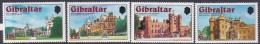 Gibraltar 1978 25th Anniversary Of Coronation  Set MNH - Gibraltar