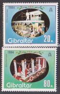 Gibraltar 1984 Christmas Set MNH - Gibraltar