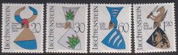 Liechtenstein 1966 Arms  Set  MNH - Liechtenstein