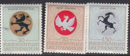 Liechtenstein 1969 Arms  Set  MNH - Liechtenstein