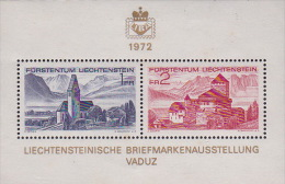 Liechtenstein 1972 8th Philatelic Exhibition Mini Sheet MNH - Liechtenstein